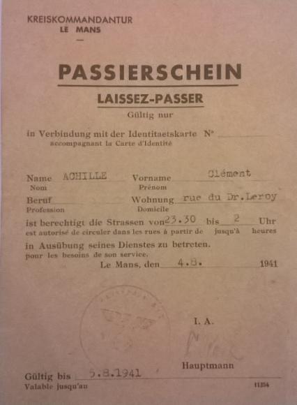 Laissez-Passer 1