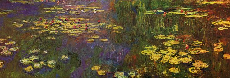Monet waterlillies